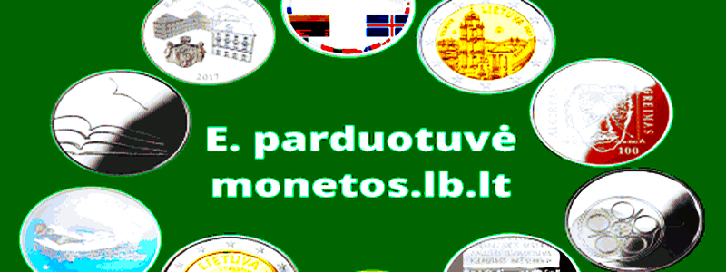 Pradėjo veikti Lietuvos banko e. parduotuvė monetos.lb.lt