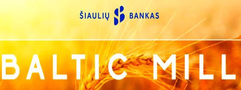 Šiaulių bankas platina AB Baltic Mill viešą obligacijų emisiją