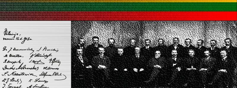 Ant blokų grandinės monetos – Lietuvos Nepriklausomybės signatarai
